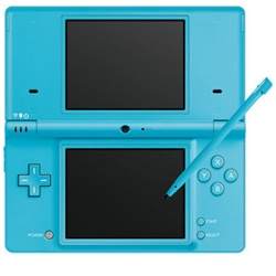 Nintendo dsi portable gaming console blue - List of nintendo ds consoles ...